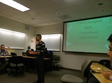LGBTQ immigrant rights presentation
