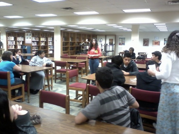 Dream act presentation at Falls Church High School